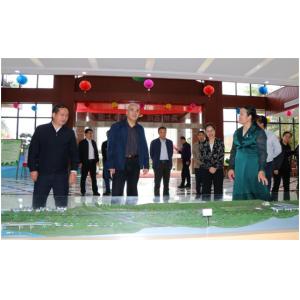 广西壮族自治区自然资源厅党组书记、厅长陈建军一行来访碧清源公