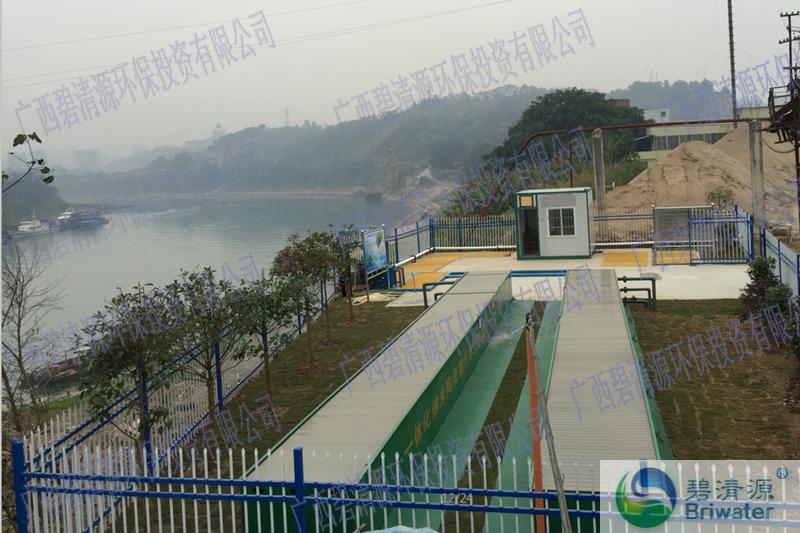 广西某直排口污水处理工程(图1)