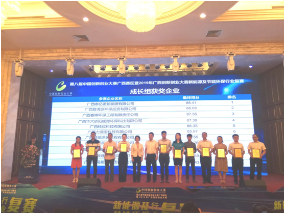 Briwater entered the final  innovation and entrepreneurship competition in guangxi(图4)